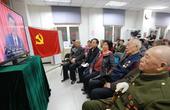 安贞地区党员干部收看十九大直播 反响热烈