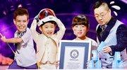 神手速!9岁萝莉创世界纪录 张绍刚进军国际主持界