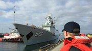 中国军舰抵美:美国大选后解放军首次到访