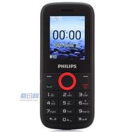 飞利浦 E130 GSM手机(红色) 双卡双待