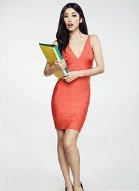 主持人、歌手、演员美女明星-朱珠美照(图文) - 凤英     - 凤英