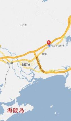 吴川市合山地图