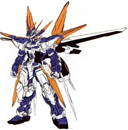 MBF-P03D异端高达蓝色机D