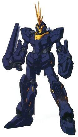 RX-0独角兽高达2号机 报丧女妖