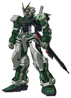 MBF-P04异端高达绿色机