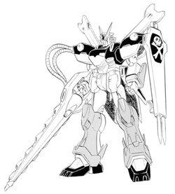 XM-X1全装甲骷髅高达X1