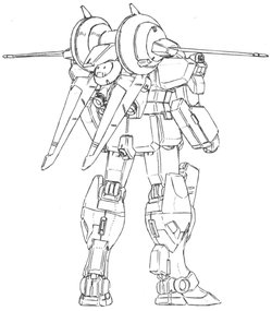 RGM-86EW早期预警型吉姆Ⅲ