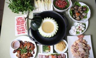 5-6人美食2选1,提供免费WiFi,尽享精致套餐【美味三门峡陕县温塘图片
