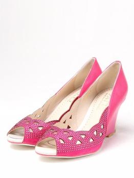 patty / 鱼嘴坡跟单鞋