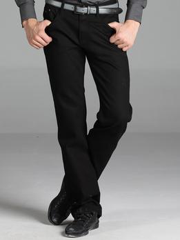 卡宾黑色牛仔裤 - 牛仔裤/男士裤子/男装
