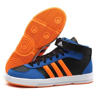 阿迪达斯adidas篮球2014新款男鞋无印痕场下休闲高帮