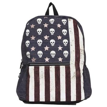 美国国旗简笔画