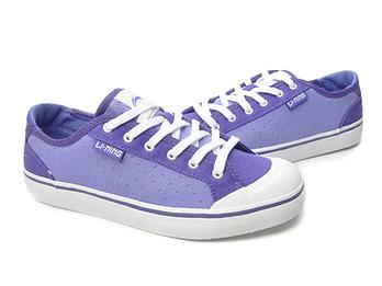 李宁 女式 运动生活系列简洁透气经典休闲鞋