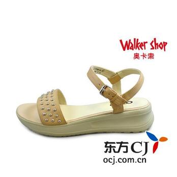 奥卡索 oxox 铆钉时尚女凉鞋