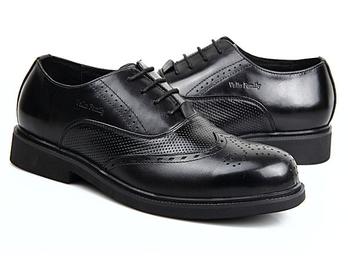 男士商务鞋英伦布洛克雕花皮鞋潮流夏季透气男鞋休闲