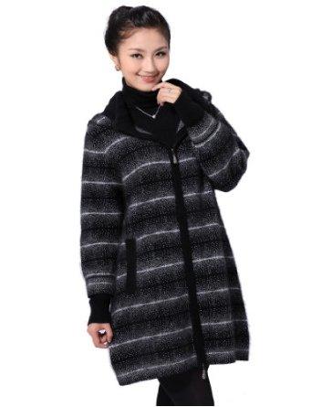 女士式貂绒大衣