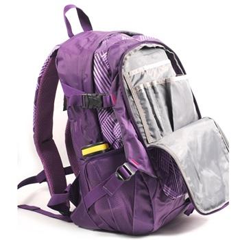 亨得利handry双背肩包1393紫色