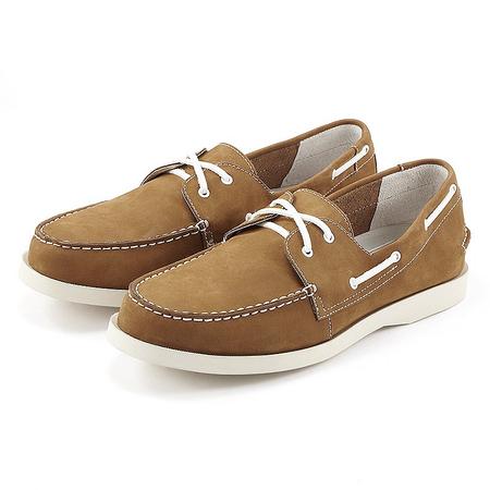 磨砂牛皮帆船鞋 - 男士皮鞋/男鞋/鞋包配饰