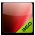 360桌面主题-颜色系列魅力红 安卓最新官方正版