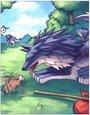 流浪之狼卡片