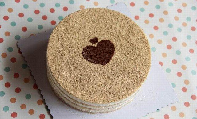 6英寸圆形木糠蛋糕1个