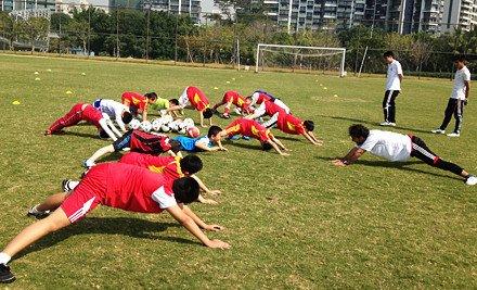 足球培训3次课,仅限5-13岁(均含)儿童体验