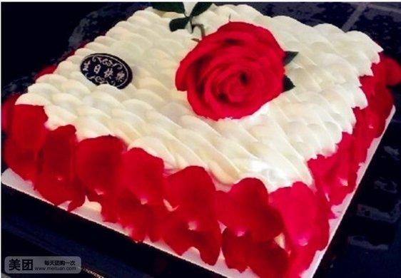 全是玫瑰花各类蛋糕花边图片展示