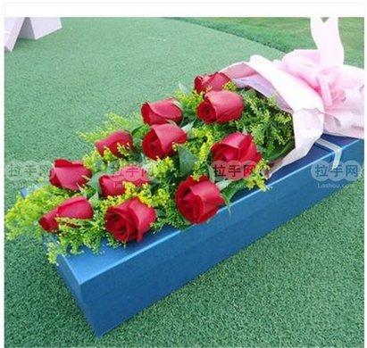 鲜花礼盒1个,赠送精美包装