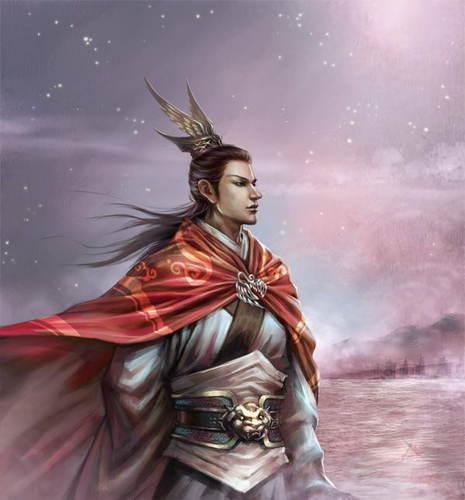 王者周瑜简笔画