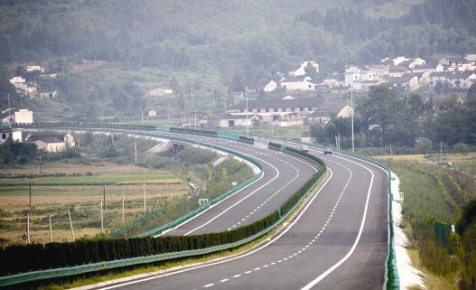 合那高速公路风景