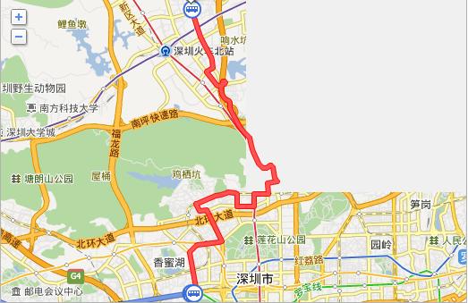 从深圳西火车站到龙华民治怎么坐车?