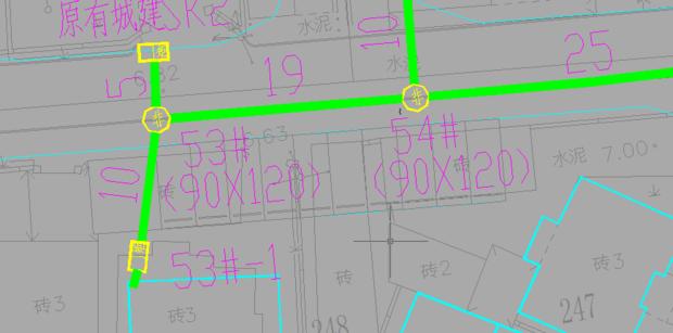问答管道CAD图纸_360通信图纸隔离模板水泥墩图片