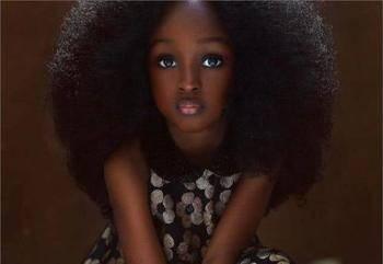 """她是真正的真人芭比,年仅五岁因美貌被称""""世界最美丽的女孩""""!_图1"""