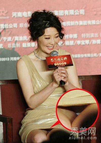超短裙是女星必备的性感利器,虽 萧蔷不得不说这位美女明星,曾是