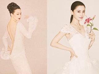 28岁杨颖和52岁刘嘉玲古典时装PK,小两轮没一点优势