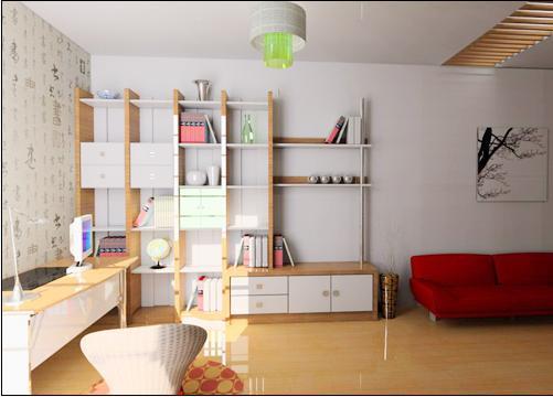 书房设计_360百科