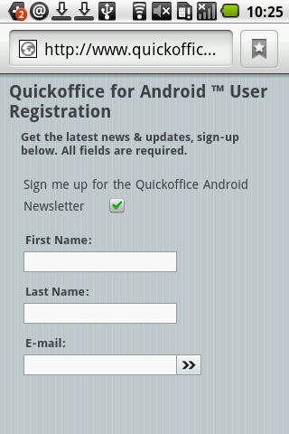 QuickOffice截图2