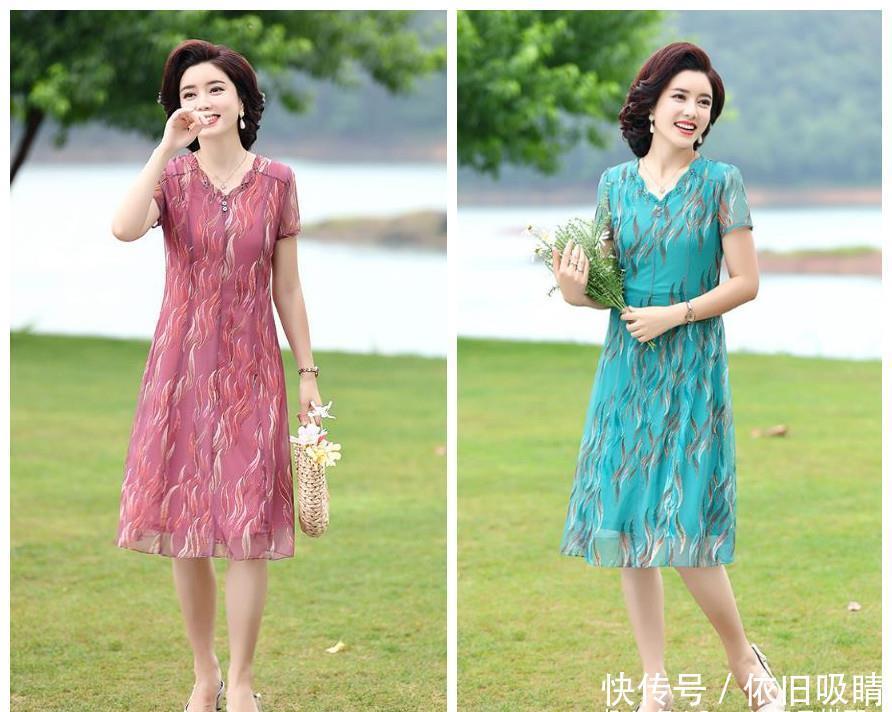 6070后妈妈,中秋节回家试试这样穿,搭单鞋or高跟鞋,惊艳整条街