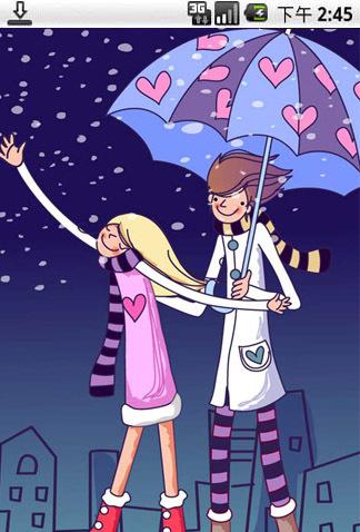 它会给你带来幸福!浪漫情侣唯美壁纸,喜欢的你和他还在等什么呢.