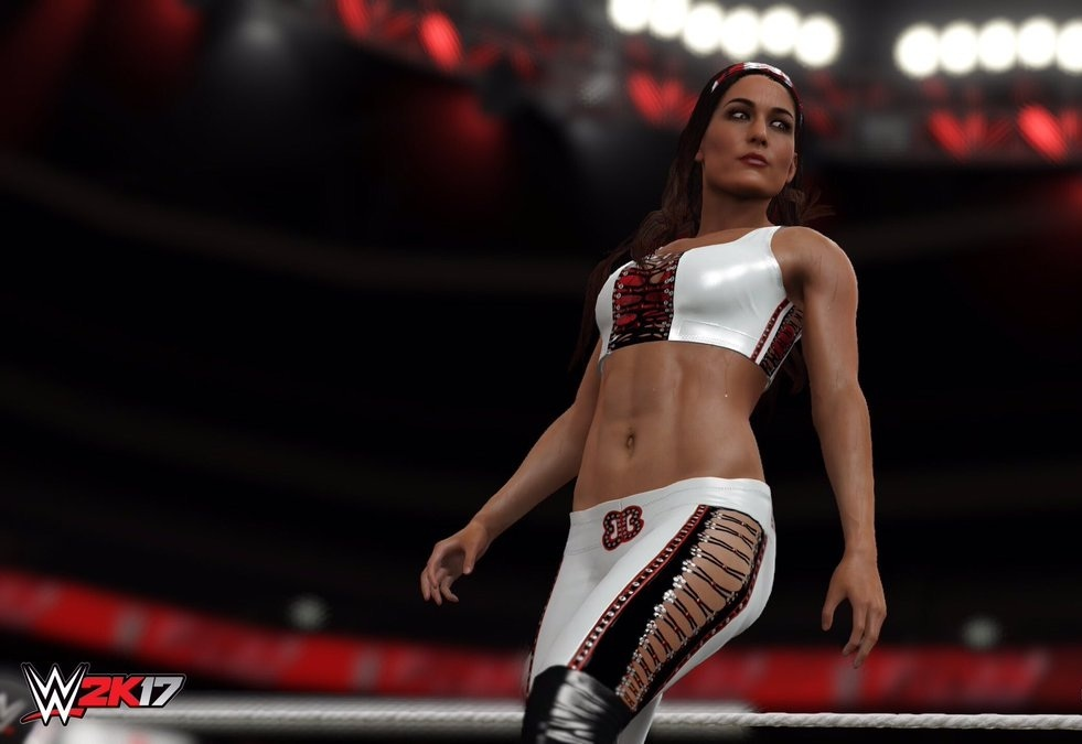 《WWE 2K17》超级明星名单