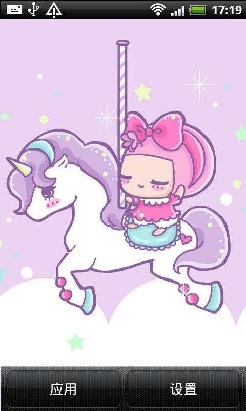 可爱卡通女孩动态壁纸app下载_可爱卡通女孩动态壁纸