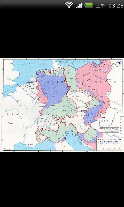 二次世界大战地图