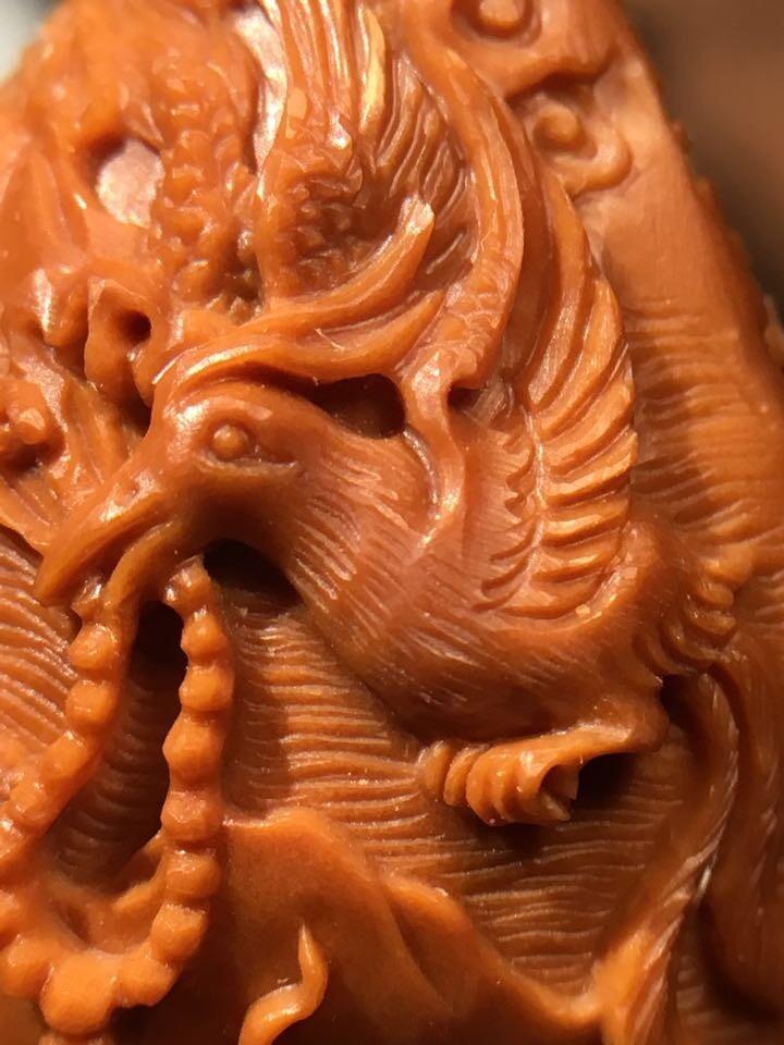 纯手工雕刻橄榄核雕精品更新啦