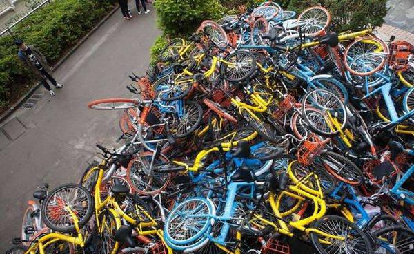 废金属难处理:共享单车耗费钢铁相当于5艘航母