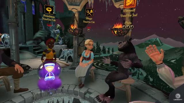 育碧发表多人在线VR游戏《狼人入侵》