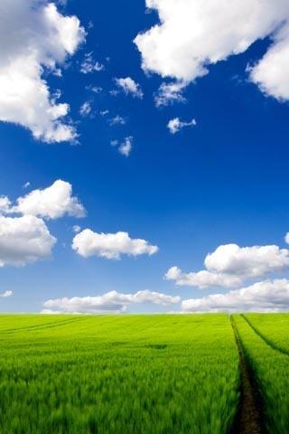 蓝天白云风景动态壁纸(高清版)