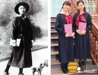 日本妹子的校服都那么短?考上没有高中图片