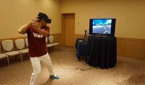 VR棒球练习系统
