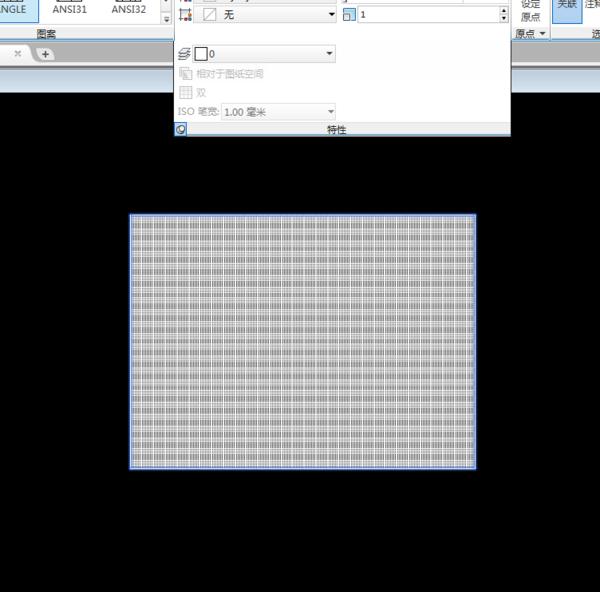 CAD比例更改的图案一次就设置好?CAD导入填充怎么轴su图片