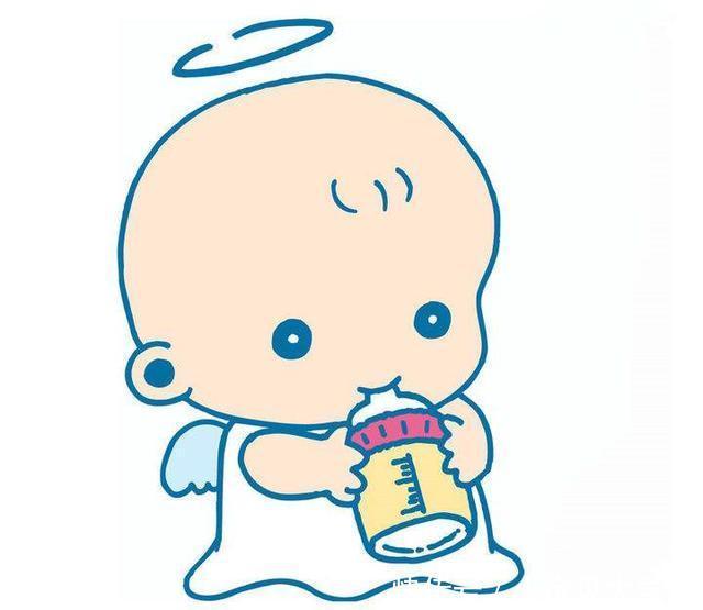 岁宝宝边滑落边喝奶,表情睡觉后,奶瓶的表情太网易图云宝宝包图片